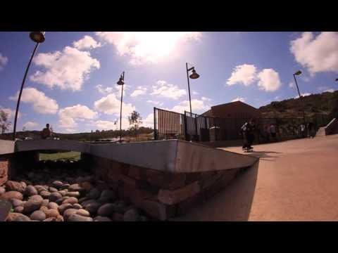 Carlsbad Alga Norte Skatepark 2014 Nyjah Huston - Dominick Walker - Edgar Barrera