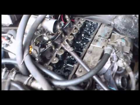 Фото к видео: QD32 притираем клапан не снимая башки
