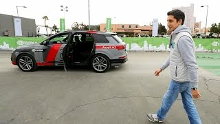 Тестируем настоящую беспилотную Audi Q7!