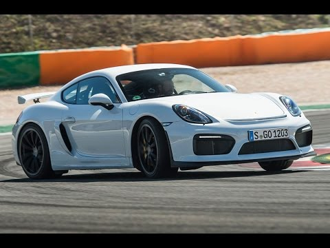 New 380bhp Porsche Cayman GT4 tested to the limit