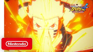 NARUTO SHIPPUDEN Ultimate Ninja Storm 4 ROAD TO BORUTO - Announcement Trailer - Nintendo Switch