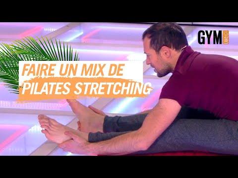FAIRE UN MIX PILATES / STRETCHING - GYM DIRECT