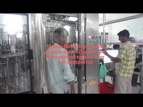 Automatic Carbonated Drinks Bottling Machine