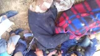 أحمد أدم من الرستن الخميس 6 6 2013 استشهد وهو جريح في طريق الموت اثناء النزوح من القصير