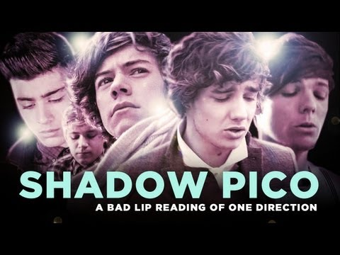 """SHADOW PICO trailer"" — A Bad Lip Reading of One Direction"