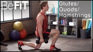 Lower Body Workout: Glutes, Quads & Hamstrings- Scott Herman by BeFiT