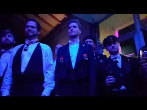 Swedish choir Korgossarna sings Russian song   Шведский хор поёт КОНЯ!!!