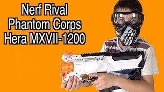 Review of the Nerf Rival Phantom Corps Hera MXVII-1200 with Robert-Andre!