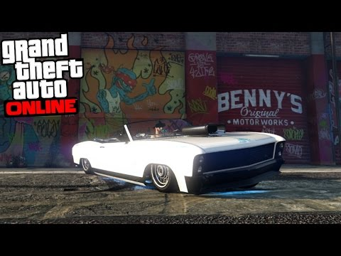 GTA 5 Online - THE LOWRIDER