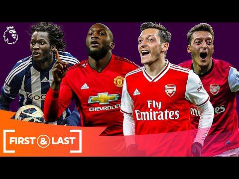 Current SUPERSTARS' First & Last Premier League Goals | Romelu Lukaku Mesut Ozil & more!