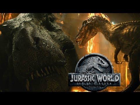 New Jurassic World Fallen Kingdom Baryonyx and Tyrannosaurus Teaser Analysis - Is that Suchomimus?