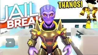 THANOS JOINED MY GAME (Roblox Jailbreak)