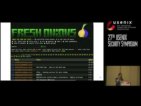 How Do Tor Users Interact With Onion Services? | USENIX->
