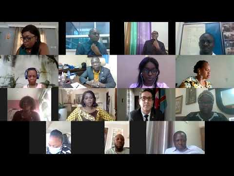 Vidéo conférence sur le lancement du concours jeunes talents francophones