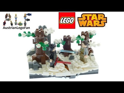 Vidéo LEGO Star Wars 75236 : Duel sur la base Starkiller
