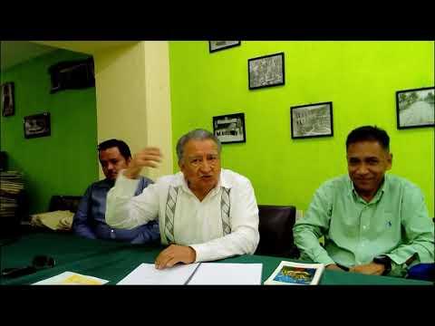 Presentación editorial: Personajes populares de Tapachula 1940-1960. Presenta: Rafael Molina Matus. Participa: Humberto Quintanar Cinco