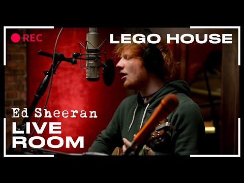"""Ed Sheeran - """"Lego House"""" captured in The Live Room"""