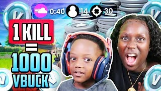 1000 FREE V BUCKS! Fortnite: Battle Royale w/ Siah (EXTREMELY FUNNY)