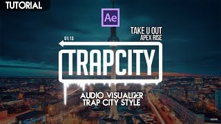[Tutorial] - Free Audio Spectrum - Trap City Style   Adobe After Effects 2015