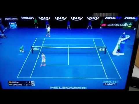 Resumen semifinal Nadal - Dimitrov