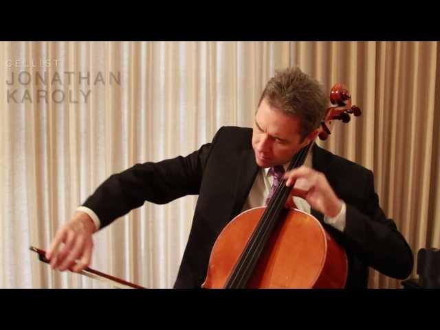 Cellist Jonathan Karoly talks Benning Violins