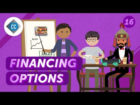 Financing Options for Small Businesses: Crash Course ... - YouTube