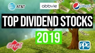 Top 5 Dividend Stocks To Buy In 2019 💰