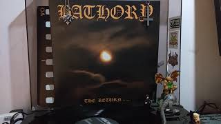 Bathory (SWE) The Return of the Darkness and Evil 'Vinyl RIP' Full