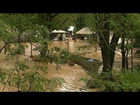 Καταιγίδες σαρώνουν τη νότια Γαλλία