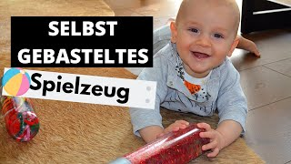 KOSTENLOSES SELBSTGEBASTELTES SPIELZEUG FÜR DEIN BABY || SPIELZEUG MIT EIGENEN HÄNDEN GEMACHT