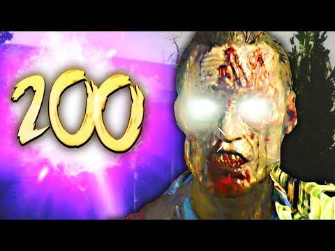 NEW ALPHA OMEGA EASTER EGG SOLVED! ROUND 200 GAMEPLAY SKIP (Black Ops 4  Zombies Easter Egg Tutorial)