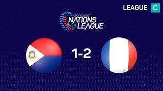 Nations League : Sint-Maarten - Guadeloupe (1-2)