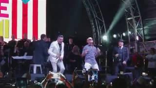 Fiestas De La Calle Miami. Michael Stuart, Luis Enrique Y Roberto Blades