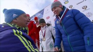 Биатлон. Чемпионат России-2017. Смешанная эстафета