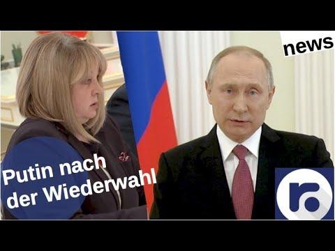 Putin nach der Wiederwahl [Video]