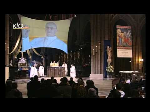 Messe solennelle d'action de grâce