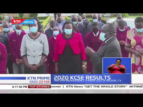 15 student at the Moi High School Kabarak score A plain grades, while 84 others scored A- (minus)