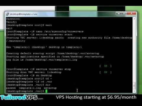 comment installer vnc sous linux