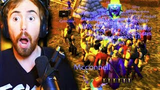 Asmongold GOES CRAZY After FINALLY Playing CLASSIC WOW!