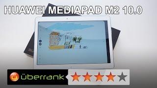 Huawei MediaPad M2 10.0 Test | Review | deutsch