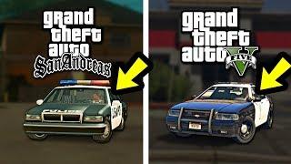 Полиция GTA San Andreas VS Полиция GTA 5 - Где лучше?😱