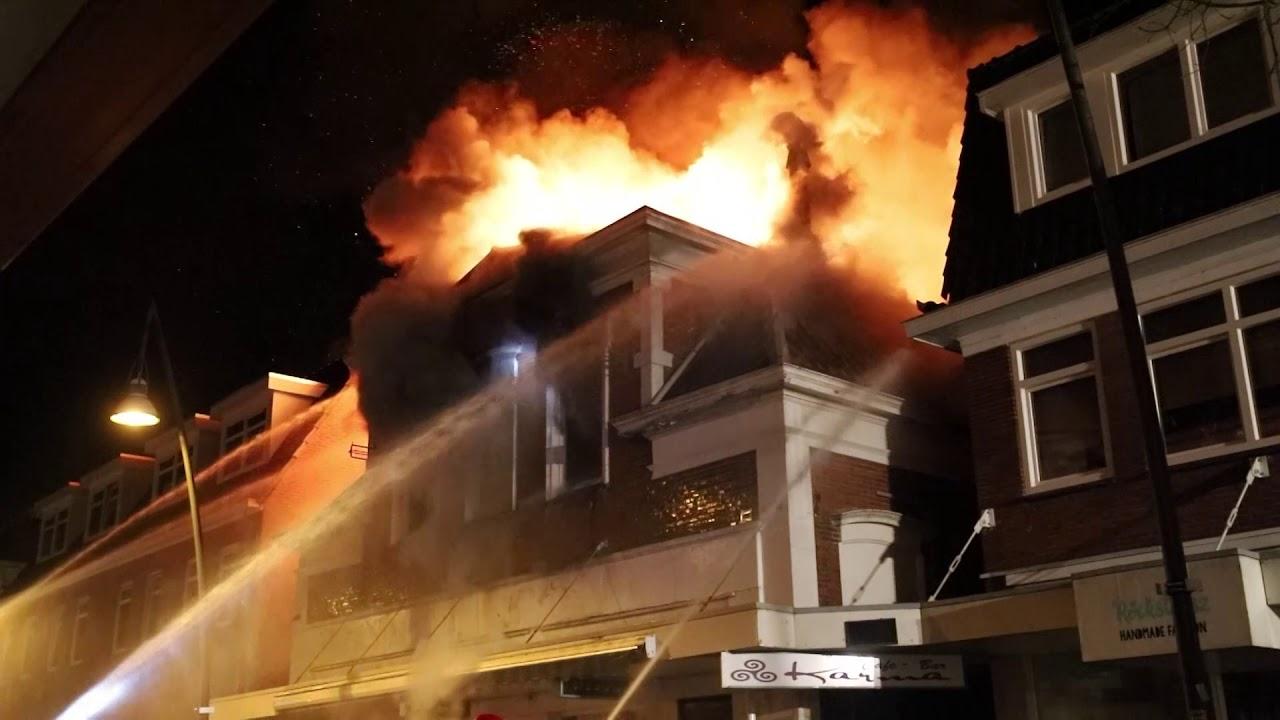 Zeer grote brand geblust in Veendam