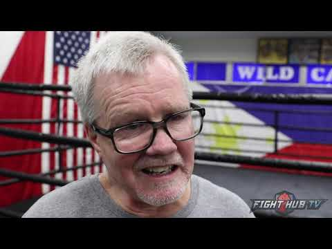 "FREDDIE ROACH REACTS TO THE DEATH OF PERNELL WHITAKER ""HE WAS ONE OF THE GREATEST OF ALL TIME"""