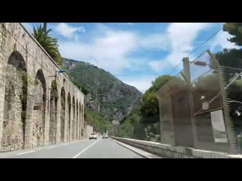 Driving From Nice to Monaco