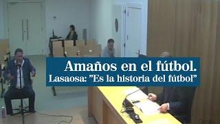 """Agustín Lasasosa, presidente del Huesca: """"Es la historia del fútbol"""""""