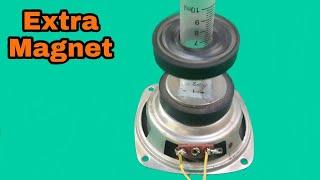 Extra Magnet effect on Speaker