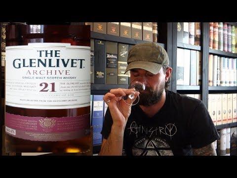 Glenlivet 21 Archive - Single Malt Whisky (Whisky Verkostung Nr.295)