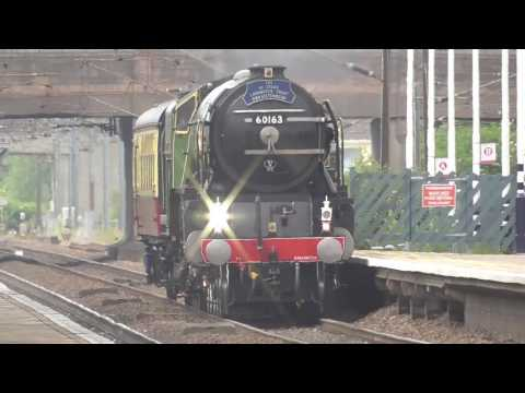 LNER 60163 'Tornado' passes Newark Northgate light engine 27…