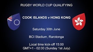 Cook Islands V Hong Kong #RWCQ Game 1