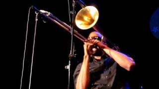 Trombone Shorty -Trombone Solo - 8/27/10